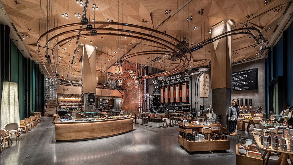 Starbucks Reserve Roastery Opens In Tokyo The 5th In The
